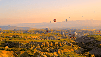 Feeling adventurous? Let's go on a hot air adventure! Only beautiful things can be seen from above! Don't believe us? Then set the Hot Air Adventure theme on your homepage and you'll see what we are talking about!