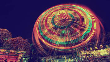 Ready for some adventures? Get on the Ferris Wheel! Get the Ferris Wheel theme on your homepage for crazy, fun times!