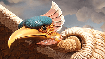 Stay out of sight the Bird in Flight is hunting! But to be fair it's not as evil as is looks once you set it on the homescreen! Try the Bird in Flight theme, it comes with it's own personalized color set!