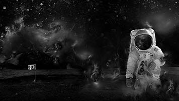 If you dreamed as a kid to be an astronaut, now it's the time to fulfill your dream with the Astronaut wallpaper. Get this free Astronaut wallpaper on your computer and start surfing the outer space.