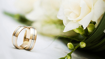 You've been waiting your whole life for this! This is your big day! Just don't forget about the wedding rings. After the ceremony set the Wedding Rings theme on your homescreen to celebrate the beginning of your new life!