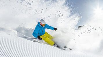 Nevó anoche, la pista de esquí está preparada. Si aún tienes alguna herida del año pasado pon el tema llamado Pista de esquí en tu pantalla de inicio y siente el escalofrío de la adrenalina solamente al estar frente del computador.