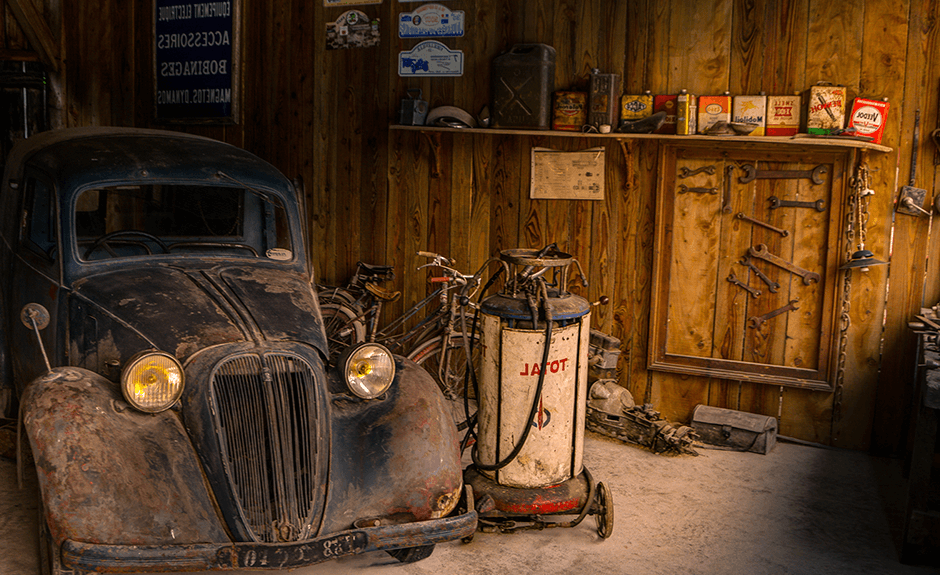 Old Garage Theme