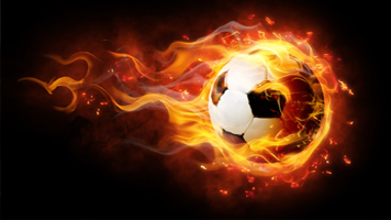 When your team is on fire, choose the Soccer Fire Ball wallpaper and hope that those fiery long passes will get in the net! The Soccer Fire Ball theme comes with it's own color set.