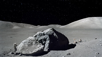 Though you're not the first man on the moon you can definitely feel like one with the Man on the Moon wallpaper. Get it for free on your computer!