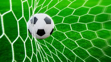 Goal, goal, goal! Relive the happiest moments of your favourite soccer team's games with the Soccer Ball Net wallpaper. You can get this Soccer Ball Net theme on your homepage as easily as saying OUT!