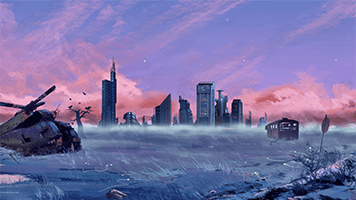 Everyone has left! The Blue City is completely deserted! Just set the Blue City theme on your homescreen and let's start to repopulate this forgotten place!