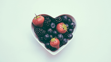 If you like this sweet and fruity heart you can use it for free on your computer! Just pick it from from our catalog, set it on your homepage and you're ready for a new romantic adventure.