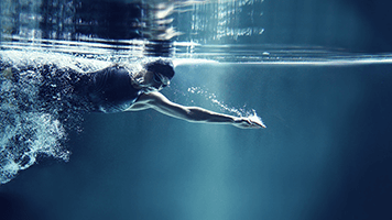 Take a breath and dive into the water like a true swimmer! Give everything you've got! The Swimmer theme will help you get in the mood for sports even when you don't feel like it!