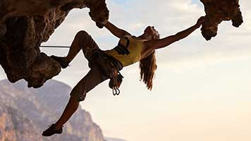Cliff climbing is all about perseverance! The stronger the mind the higher the climb! So set this Cliff Climbing theme on your homepage and start training for you next mountain peak!