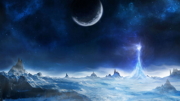 Enter the fantasy world, filled with mysteries and unknown. Set the Fantasy World 1 wallpaper on your computer and let your imagination flow freely while visiting the alien world.