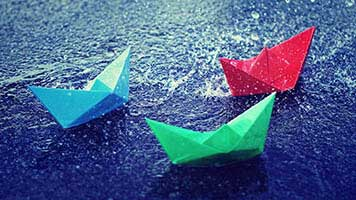 Summer is here, childhood is back, so let's start playing with some paper boats! If you want the Paper Boats theme, get it for free on your homepage. Start the paper boats race now!