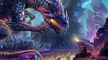 Get pass the Purple Dragon and steal the treasure! Are you up to that? If yes, set this Purple Dragon theme on your homepage and start the adventure!
