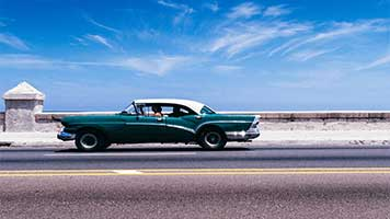 Ride in style with this cool Old Car! Hit the gas and it won't let you down! Try the Old Car theme or just pick any other car wallpaper from our catalog, we're sure you're going to find something you like.