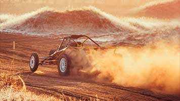 Are you fast enough for the Desert Buggy? Just click on the button and you're set! This Desert Buggy theme comes with it's own color set and can be shared with all of your friends!