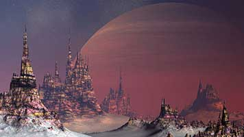 Come to the end of the galaxy to the Far Away City! The unknown awaits you! If you want be a pioner on this new world just set the Far Away City theme on your homepage and you'll be immediately teleported.
