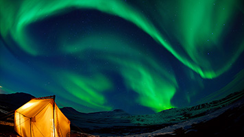 Let the Green Night Sky wallpaper take you on an imaginary trip beneath the northern lights. You can Green Night Sky wallpaper on your computer or share it with other aurora borealis fans.