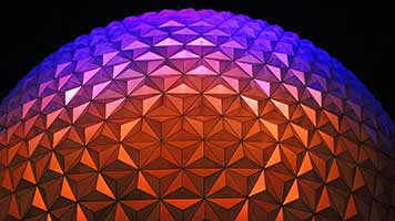 Visit with us the colorful dome! Or we can simply bring it to your house. Don't believe us? Just pick the Dome wallpaper from the UR Browser catalog and you'll see for yourself!