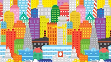 Come to the Color Town, there's lots of surprises for you here! Try this pixel art theme on your homepage and forget about all your problems! The Color Town theme comes with it's own color set!