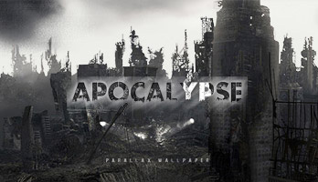 We are doomed, the Apocalypse is here! Grab what you can and run, the Apocalypse wallpaper will let you know how thing will go down!