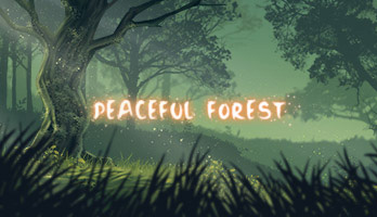 Meditate and relax with the Peaceful Forest parallax! Apply for free the Peaceful Forest wallpaper and free your mind!