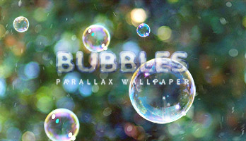 Bubbles, bubbles, bubbles everywhere! Get this free Bubbles wallpaper on your computer and let's pop them all!