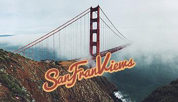 Die Ansichten aus San Francisco verführen immer! Lade das Hintergrundbild Ansicht aus San Francisco kostenlos auf deinem Computer herunter und erfreue dich einer der sinnbildhaften Strukturen der Stadt, die Golden Gate Brücke.