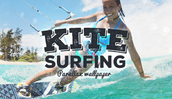 Get ready for some kitesurfing action! Apply this free KiteSurfing wallpaper on your homepage and get into the vacation mood.