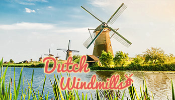 Dutch Windmills are so beautiful and they are usually making a great photographic subject. If you like Dutch Windmills, get this free Dutch Windmills wallpaper on your computer.