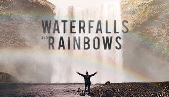 Se você gostar de cachoeiras e arcos-íris,baixe gratuitamente para o seu computador   este fundo de tela com o titulo  cachoeiras e arcos-íris.