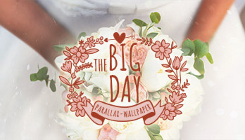 It's ok to be excited it's your big day! Say yes to the dress and apply The Big Day wallpaper on your homepage. Now you're ready for the big event!