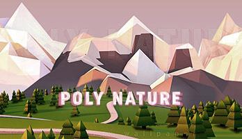 Wenn dir die Natur und die Illustrationen gefallen, dann ist Vieleck-Natur die ideale Parallaxe für dich! Lade das Hintergrundbild Vieleck-Natur kostenlos auf deinem Computer herunter und genieße diese wunderschöne Landschaft!
