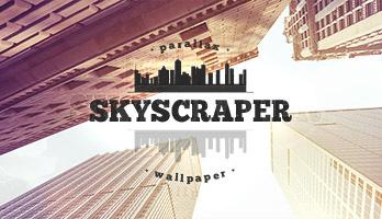 Entra a atmosfera urbana com umaparalaxe de   arranha-céus de  Explore a cidade e baixe para seu  computador o fundo de tela  com o titulo  Arranha-céus.